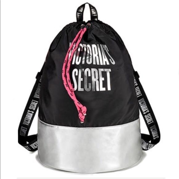 4ce57ba539b Victoria s Secret Cyber Monday Drawstring Tote Bag